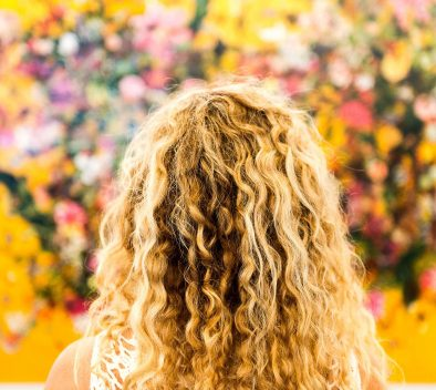 curly hair routine steps
